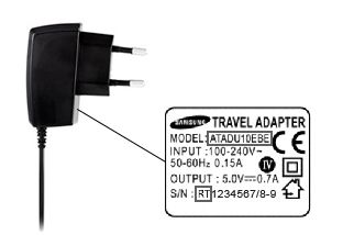 Samsung Travel Adapter