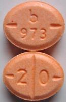 Nur Tabletten mit diesem Aufdruck werden zurückgerufen (Foto: Barr)