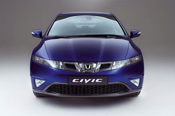 Honda Civic von vorne