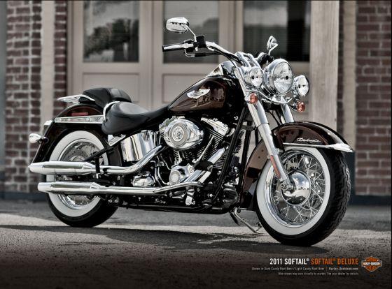 Harley Davidson Softail Deluxe Modelljahr 2011