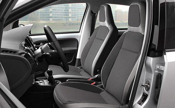 Rückruf: Bei knapp 9.500 in Deutschland zugelassenen Mitgliedern der VW-Kleinstwagenfamilie kann es Probleme mit dem Seitenairbag geben. (Foto: Volkswagen)