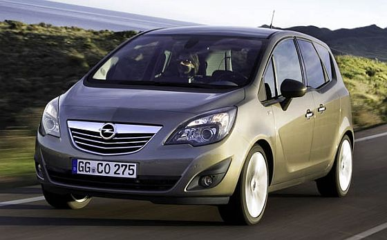 Kleiner Rückruf, aber oho: Bei 500 Opel Meriva B droht schlimmstenfalls ein Ausfall der Lenkung. (Foto: Opel)