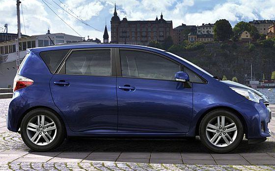 Neben dem Toyota Yaris ist auch der Vero-S vom Servolenkungs-Rückruf betroffen. (Foto: Toyota)