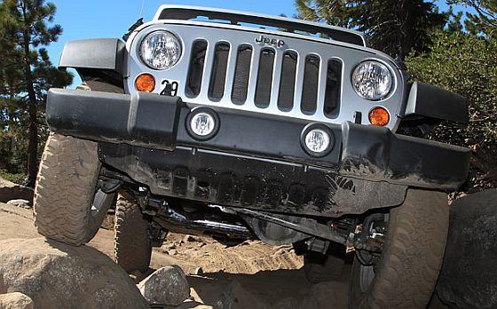 Rückruf: Beim Jeep Warngler der Baujahre 2011 bis 2013 kann Getriebeöl auslaufen. (Foto: Jeep)