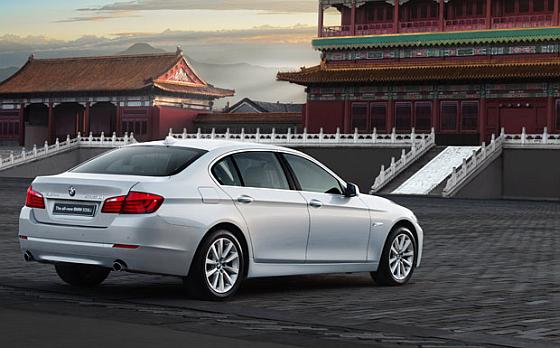 Rückruf: Die nur in China produzierte aber auch in anderen Ländern verkaufte Langversion des BMW 5ers muss wegen Servolenkungsproblemen in die Werkstatt. (Foto: BMW)