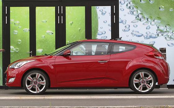 Auch der Hyundai Veloster ist von dem Handbrems-Rückruf betroffen. (Foto Hyundai)