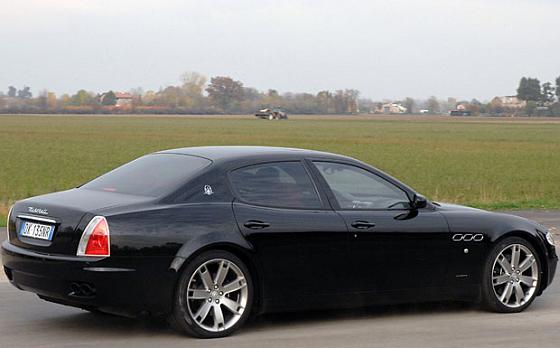 Der Maserati Quattroporte ist u.a. vom Spurstangen-Rückruf betroffen. (Foto: Maserati)