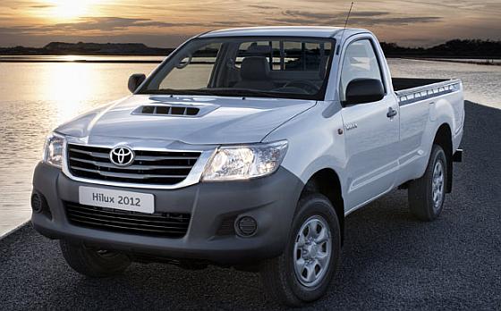 Rückruf: Auch 834 Toyota Hilux (Single Cab) müssen in die Werkstatt. Eine Laderaumabdeckung kann sich lösen.(Foto: Toyota)