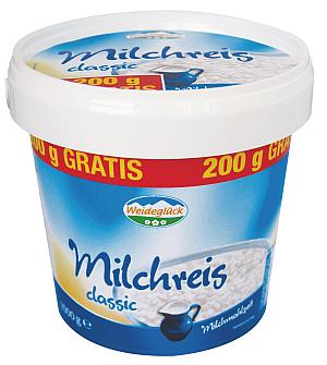 Milchreis Classic der Marke Weideglück