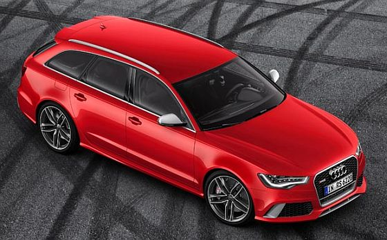 Audi-Rückruf: Bei hohen Belastungen kann u.a. beim RS6 die Kraftstoffleitung brechen. (Foto: Audi)