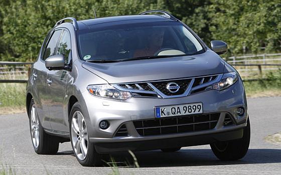 Von beiden Nissan-Aktionen betroffen ist der Murano (Z51). (Foto: NIssan)