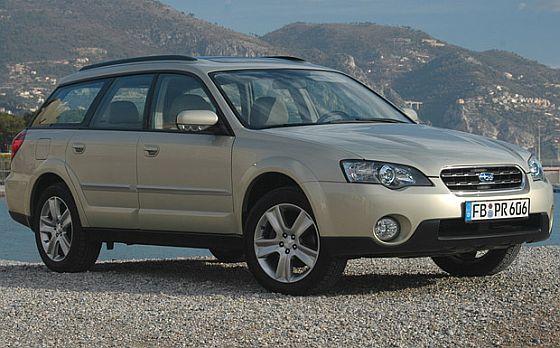 Rückruf: Auch beim Subaru Outback der Modelljahre 2004 bis 2009 müssen die Bremsleitungen auf Korrosion überprüft werden. (Foto: Subaru)