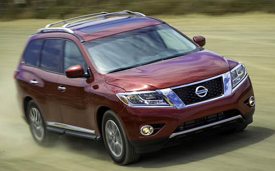 Nissan startet zu Jahresbeginn einen kleinen Rückruf u.a. für den Pathfinder. (Foto: Nissan)