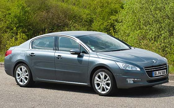 Von dem aktuellen PSA-Rückruf entfallen 444 Einheiten auf den Peugeot 508. (Foto: Peugeot)
