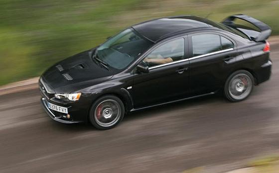 Ein Rückruf für den Lancer Evolution der Baujahre 2008 bis 2013 ist laut Deutschlandzentrale noch nicht offiziell gestartet. (Foto: Mitsubishi Motors)