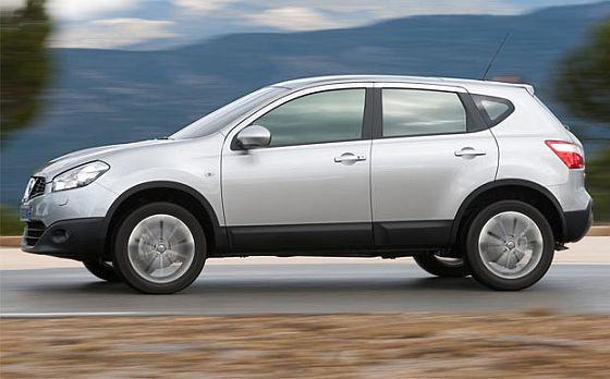 Von einem Tausch des Turboladerschlauchs sind weltweit 161.257 Nissan Qashqai betroffen, davon 16.276 in Deutschland. (Foto Nissan)