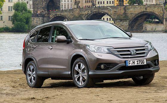Rückruf: Beim Honda CR-V müssen die Bremsscheiben auf korrekte Dimension überprüft werden. (Foto: Honda)