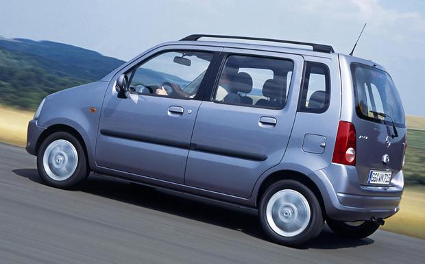 Wagon R+ müssen demnächst wegen Airbag-Problemen in die Werkstatt. (Foto: Opel)