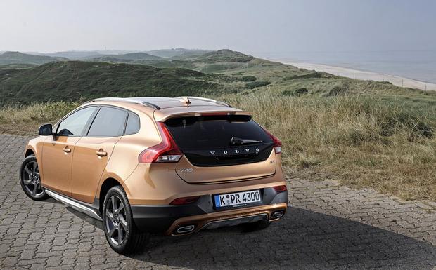 Kleiner Rückruf: Auch bei einigen V40 Cross Country kann das linke Rücklicht ausfallen. (Foto: Volvo)