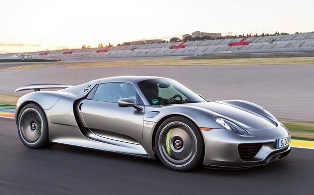 Porsche-Rückruf: Weltweit 46 Einheiten des 918 Spyder mussten im Juli in die Werkstatt. (Foto: Porsche)