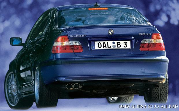 Auch beim Alpina B3 3.3 wird der Beifahrer-Airbag erneuert. (Foto: Alpina)