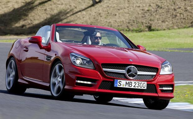 Rückruf: Der Tausch des Beifahrerairbags u.a. beim Mercedes-Benz SLK ist laut Hersteller inzwischen fast abgeschlossen. (Foto: Daimler Benz)