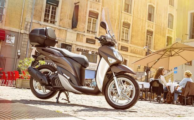 Von dem Rückruf für die Yamaha Xenter sind in Deutschland 369 Maschinen betroffen. (Foto: Yamaha)