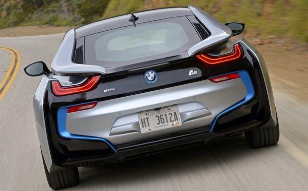 Rückruf: Manche BMW i8 mögen kein Benzin. Der Tank muss ggf. getauscht werden. (Foto: BMW)