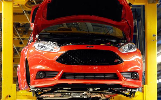 Rückruf: Beim Ford Fiesta muss das Glühkerzen-Steuerungsmodul im Motorraum ausgetauscht werden. (Foto: Ford)