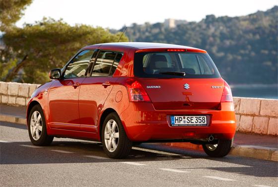 Der Suzuki Swift stellt die Mehrheit der vom Riemenscheiben-Rückruf betroffenen Modelle. (Foto: Suzuki)