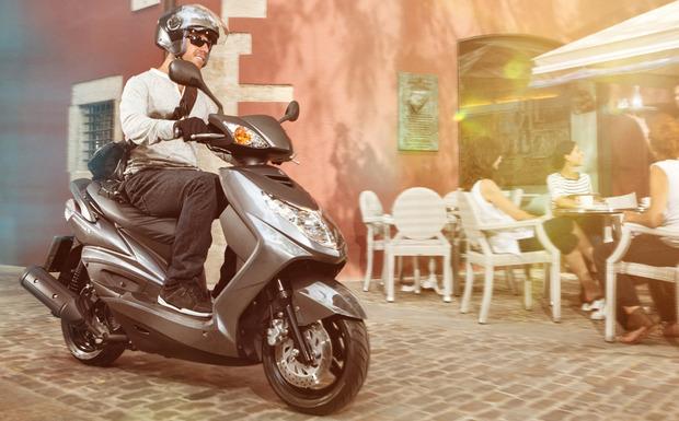 Schon im Dezember hat Yamaha den Roller Cygnus X in die Werkstatt beordert, nun wieder. (Foto: Yamaha)