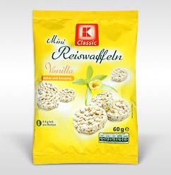 K-Classic Reiswaffeln Vanilla (Foto: Kaufland)
