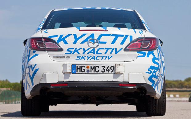 Von dem Rückruf betroffen sind nur Mazda-Modelle mit Skyactiv-G-Ottomotoren. (Foto: Mazda)