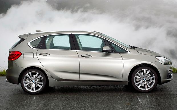 BMW lässt u.a. am 2er Active Tourer das Beifahrergurtsystem erneuern. (Foto: BMW)