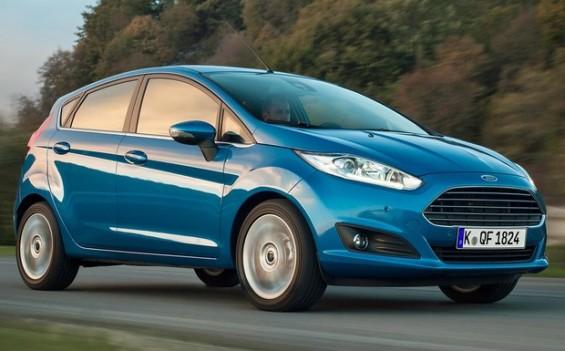 Rückruf: Bei 7.700 Ford Fiesta müssen die Gurtschlösser des Rücksitzes überprüft und ggf. ausgetauscht werden. (Foto: Ford)