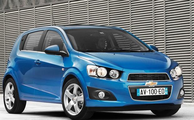 Von den weltweit 124.000 vom Zündschloss-Rückruf betroffenen Chevrolet Aveo, sind in Deutschland 7.116 Einheiten betroffen. (Foto: Chevrolet)