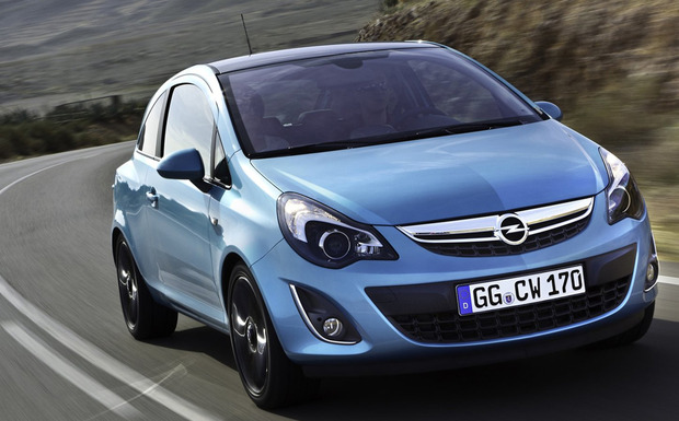 Für 6.824 Corsa D des Modelljahres 2014 läuft derzeit ein Achsschenkel-Rückruf. (Foto: Opel)