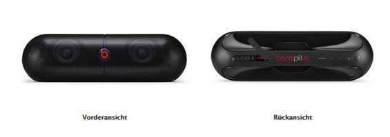 Die Lautsprecher des Typs Beats Pill XL können Feuer fangen und werden deshalb von Apple zurückgerufen. (Foto: Apple)