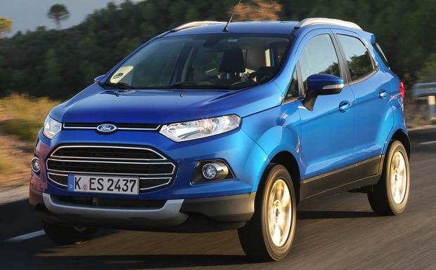 In einige Ecosport-Modelle wurden Leitungen mit zu geringem Korrosionsschutz verbaut. (Foto: Ford)