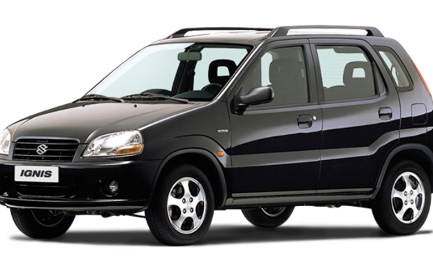 Beim Suzuki Ignis der Baujahre 2000 bis 2002 können defekte Zündschlösser einen Brand verursachen. (Foto: Suzuki)