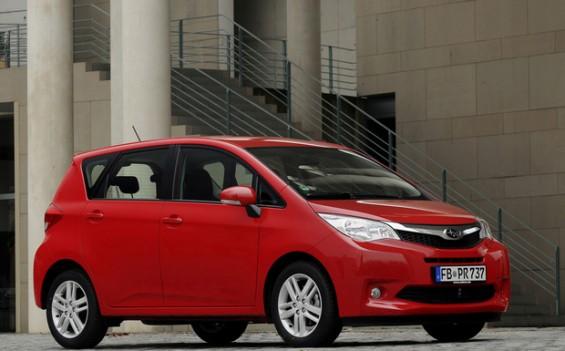 In Deutschland sind 717 Fahrzeuge des Modells Trezia 1,4D betroffen. (Foto: Subaru)