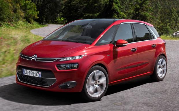 Die Kraftstoffprobleme betreffen auch den C4 Picasso. (Foto: Citroën)