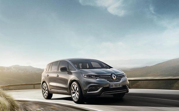 Beim Renault Espace 5 (Bild) kann ein Motorkabelstrang beschädigt sein, beim Kangoo 2 rastet die 3. Sitzreihe ggf. nicht richtig ein. (Foto: Renault)