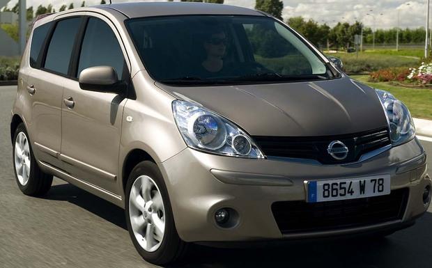 Der Nissan Note muss einen neuen Fahrerairbag bekommen. (Foto: Nissan)