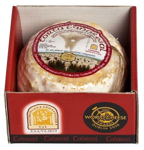 Der Käse Torta de Canarejal, 250g, 45-60% (Canarejal Cremoso) kann mit Listerien verunreinigt sein und darf daher nicht verzehrt werden. (Foto: Canarejal S.L)