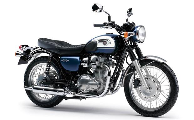 Die Kawasaki W800 kann unerwartet während der Fahrt ausgehen. (Foto: Kawasaki)