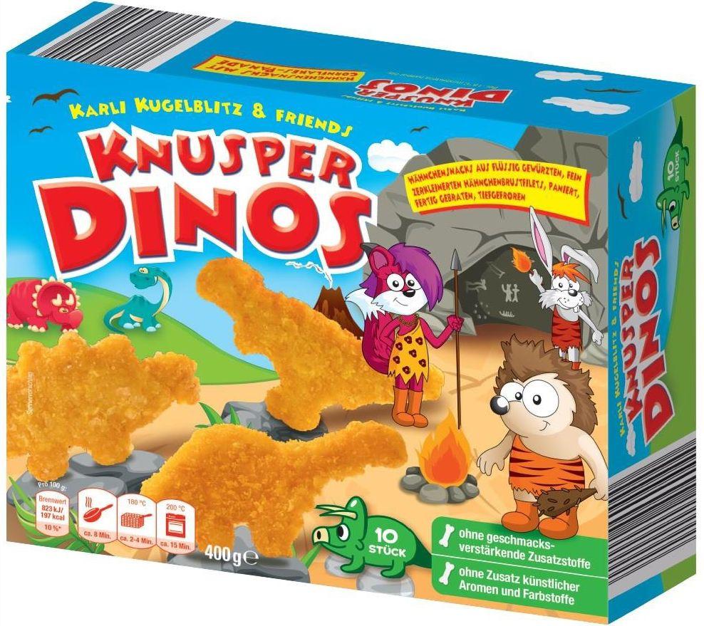 Können Plastikteile enthalten: Knusper Dinos, die bei Netto verkauft wurden. (Foto: Plukon Vertriebs GmbH)
