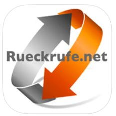 Rueckrufe.net als App für Ihr iPhone, iPod Touch oder iPad. Tippen Sie auf das Bild, um die App kostenlos herunterzuladen.