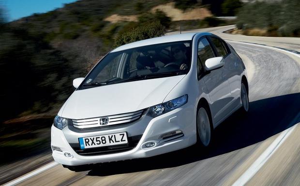 Der aktuelle Honda-Rückruf betrifft die Modelle Insight (Bild) ebenso wie Jazz und City. (Foto: Honda)