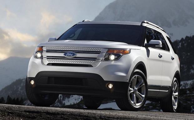 Bei einigen Ford Explorern kann sich ein Riss in den Türöffnungshebeln bilden. (Foto: Ford)